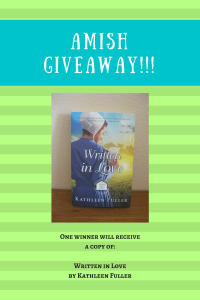 Amish Blogaversary Giveaway