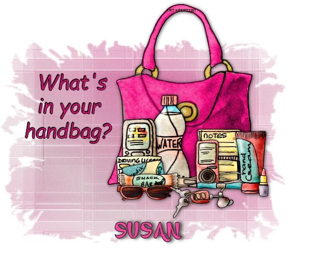KK~whats in your handbag~_Susan