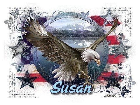 Susan--Eagle&Flag