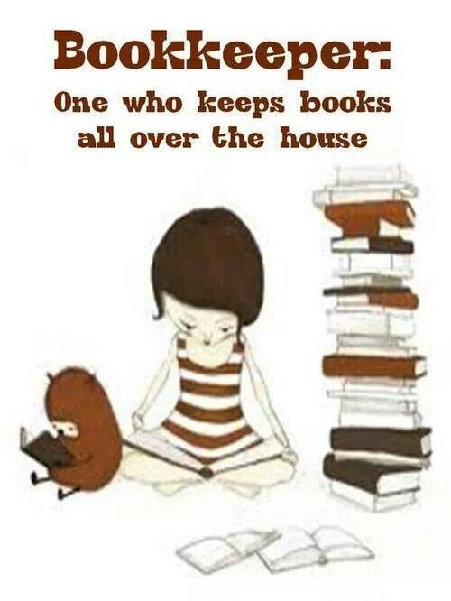 Bookkeeper = keeping books everywhere!